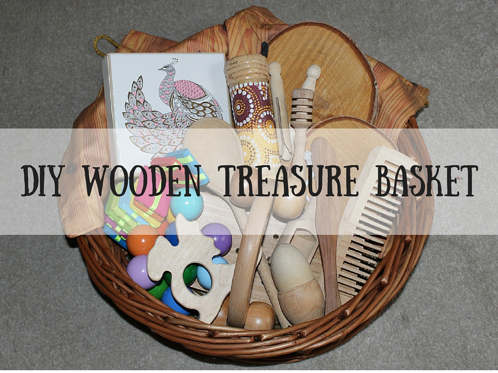 DIY Wooden Treasure Basket