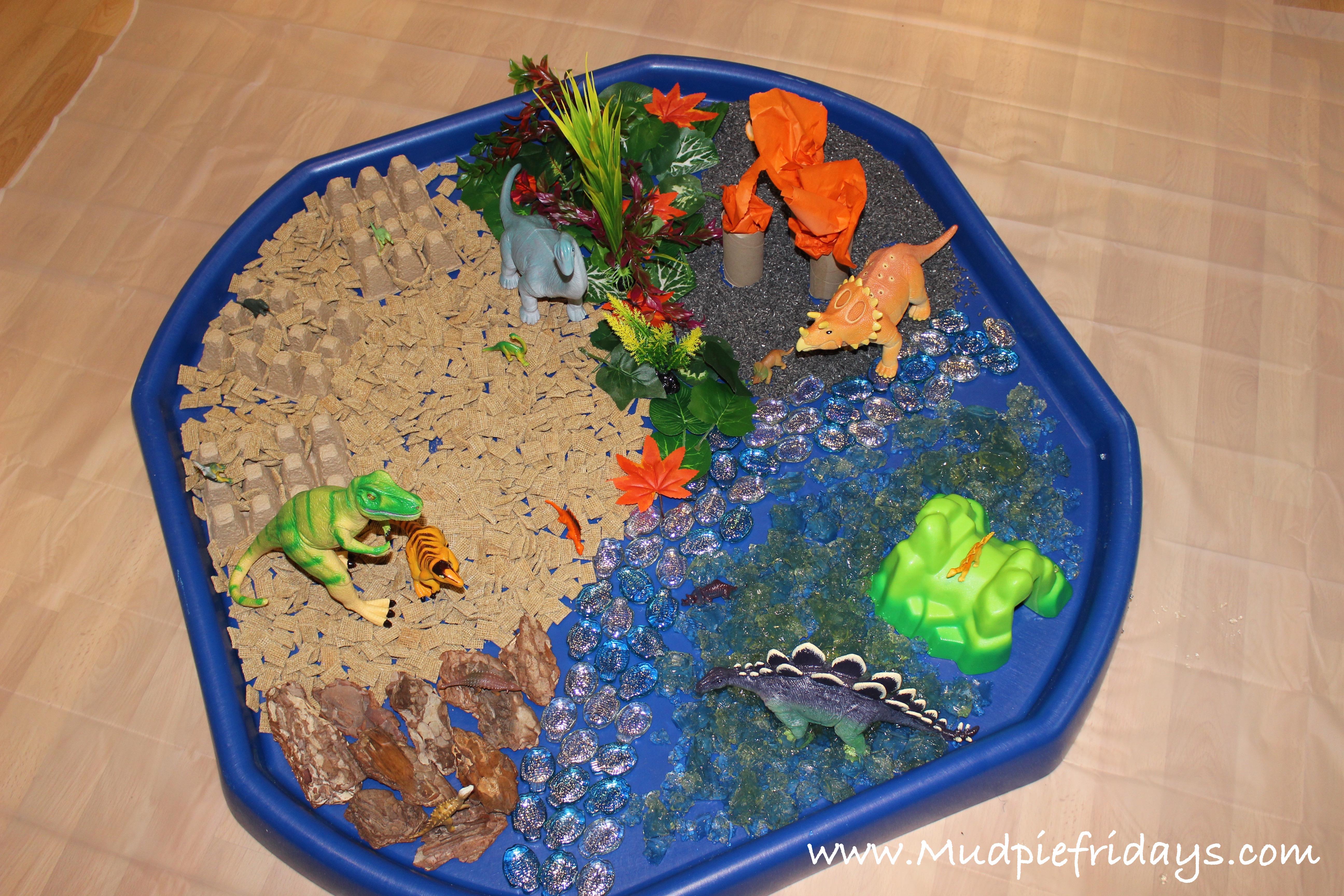 Dinosaur Small World Play Mudpiefridayscom