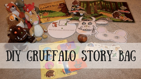DIY Gruffalo Story Bag