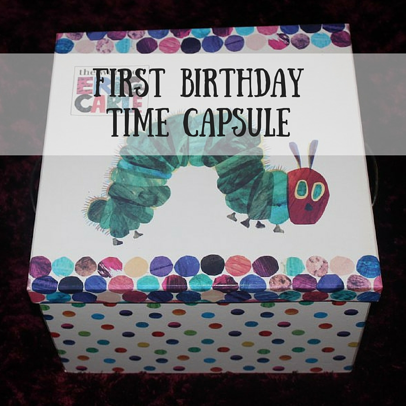First BirthdayTime Capsule