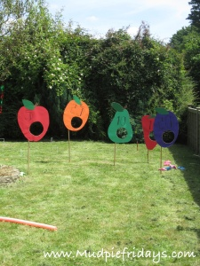 Hungry Caterpillar Party Games Idea