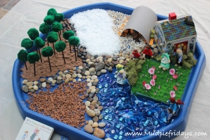Going On A Bear Hunt Small World Play Mudpiefridays Com