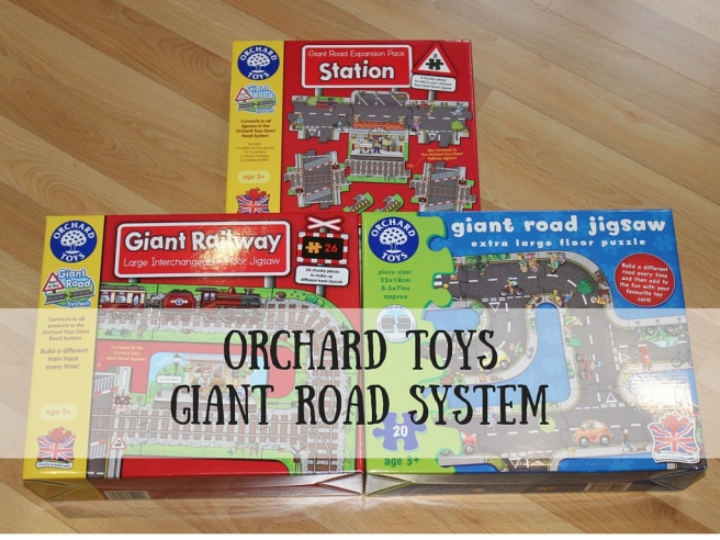 Orchard Toys Giant Road System Review