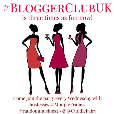 #BloggerClubUK three times as fun