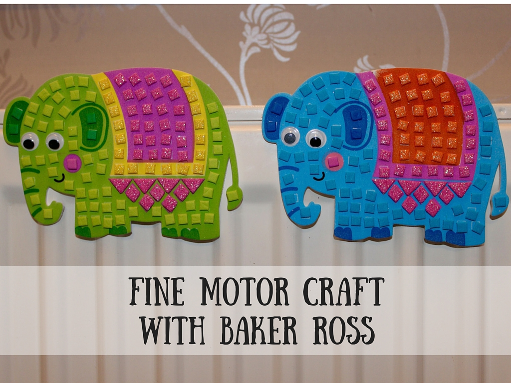Fine Motor Craftwith Baker Ross