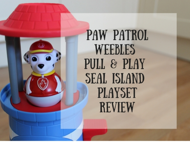 Paw PatrolWeebles Pull & play seal island playsetreview